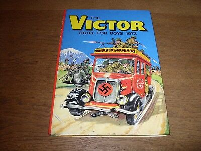 THE VICTOR BOOK FOR BOYS Annual 1973