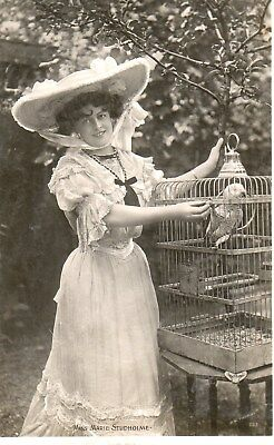 Edwardian Actress,Miss Marie Studholme,Photographic Postcard See Scans