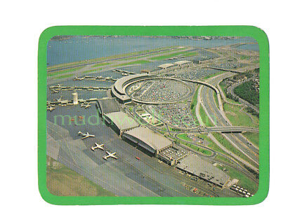 Aerial View Of Laguardia Airport Oversize Postcard