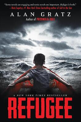 Refugee by Alan Gratz Hardcover Book Free Shipping!