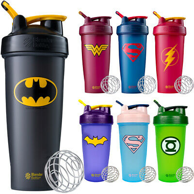 Blender Bottle DC Comics Superhero Series 28 oz Classic Shaker Cup with Loop Top