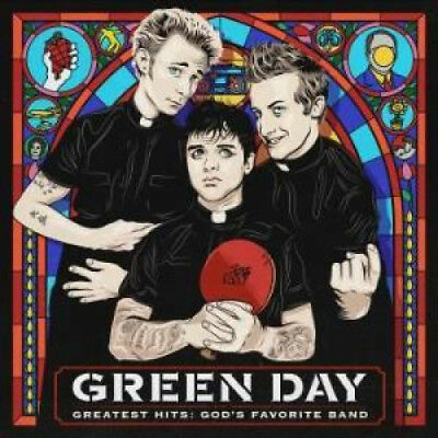 GREEN DAY Greatest Hits: God's Favourite Band DOUBLE LP VINYL European Warner