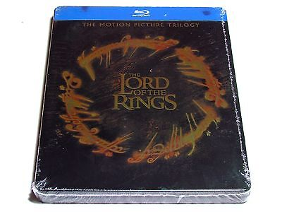 The Lord Of The Rings Trilogy Blu-Ray Steelbook Limited Edition Import New