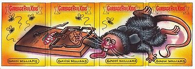 Garbage Pail Kids Battle Of The Bands Loaded Sketch Card Art Matt Rat Williams