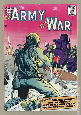Our Army at War (1952) #67 VG- 3.5