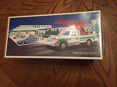HESS TRUCK 1994 Rescue Truck FREE SHIPPING