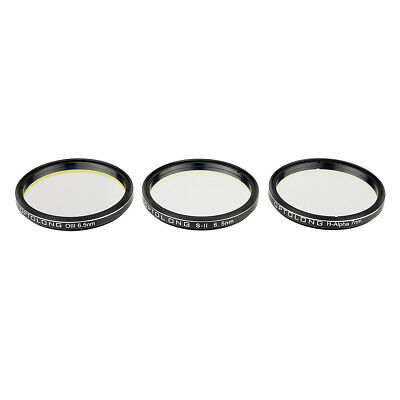 """OPTOLONG H-Alpha 7nm 2"""" SII-CCD 6.5nm OIII-CCD 6.5nm Narrow-Band Filters"""