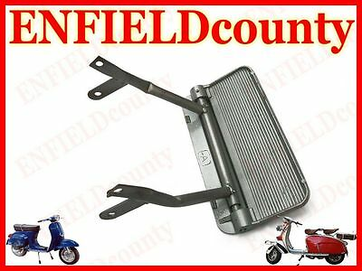 New Vespa Lambretta Scooter Side Panel Passenger Folding Footrest Alloy @aus