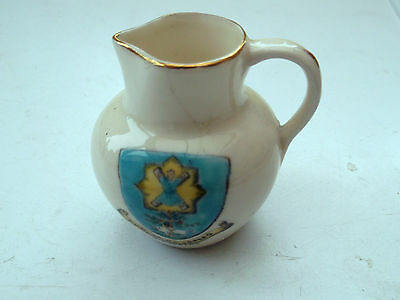 Nautilus Crested China  Jug Crested St Andrews