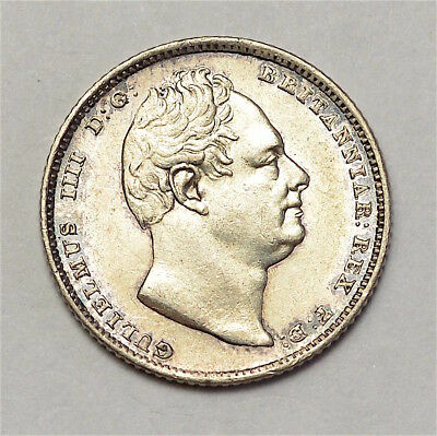 1835 Sixpence William Iv  #291-11