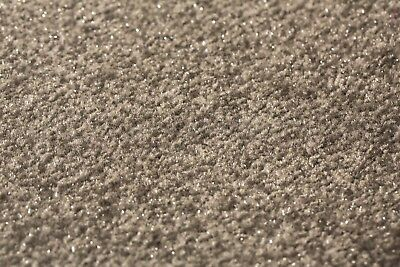 Grey Sparkly Carpet Cheap Glitter Sparkle Soft Twist Pile hessian back Bedroom