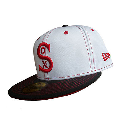 Chicago White Sox 59FIFTY Officially Licenced Throwback MLB New Era Fitted Cap