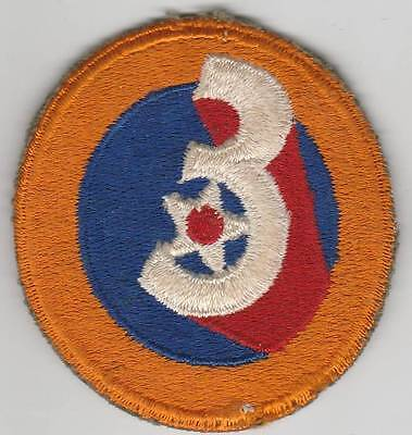 WW 2 US Army Air Forces 3rd Air Force Patch Inv# JQ986