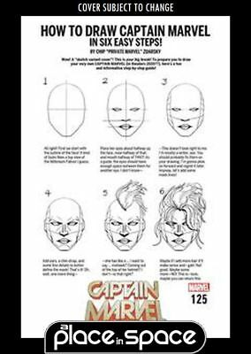 Captain Marvel, Vol. 10 #125C - How To Draw Variant (Wk43)