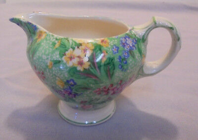 "Chinz Creamer, Empire, England, 103-0, ""Lilac Time"", 2.75"" Tall  Older"