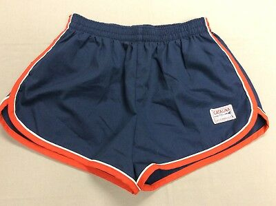 Vintage 60S 70S Catalina California Swimming Blue Surf Trunks Shorts Mens 36