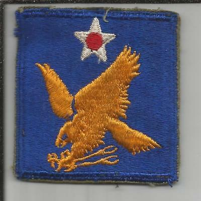 WW 2 US Army 2nd Air Force Patch Inv# JR727