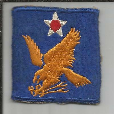 WW 2 US Army 2nd Air Force Patch Inv# JR746