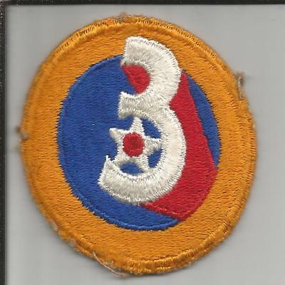 Off Uniform WW 2 US Army 3rd Air Force Patch Inv# JR755