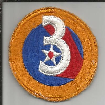 WW 2 US Army 3rd Air Force Patch Inv# JR756