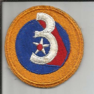 WW 2 US Army 3rd Air Force Patch Inv# JR759