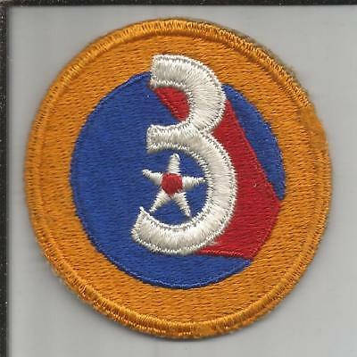 WW 2 US Army 3rd Air Force Patch Inv# JR766