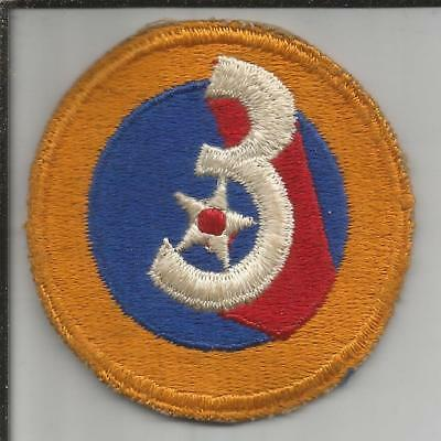 WW 2 US Army 3rd Air Force Patch Inv# JR769