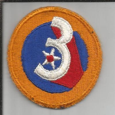 WW 2 US Army 3rd Air Force Patch Inv# JR770