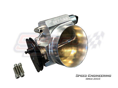 LS 92mm Cable Throttle Body (LS1, LS2, LS3, LS6 Engines) Polished