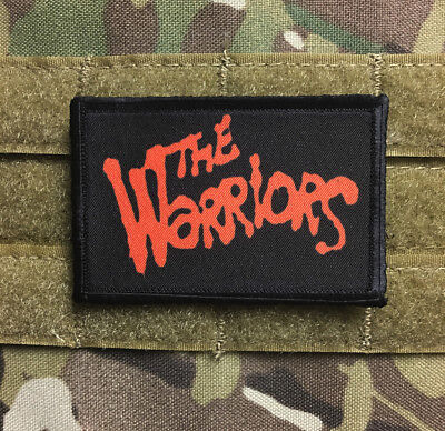 The Warriors Movie Morale Patch Funny Tactical Military USA flag Hook Badge