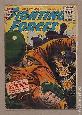 Our Fighting Forces (1954) #10 FR/GD 1.5