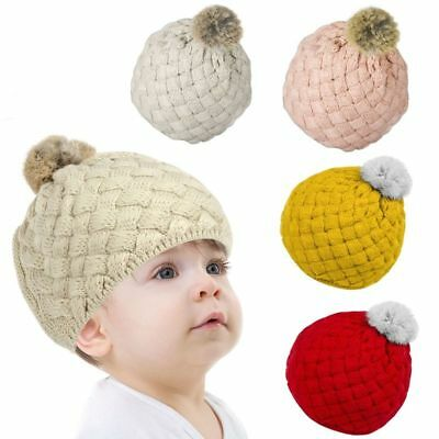 Zodaca Baby Kids Girl & Boy Cute Winter Warm Crochet Beanie Knit Hat