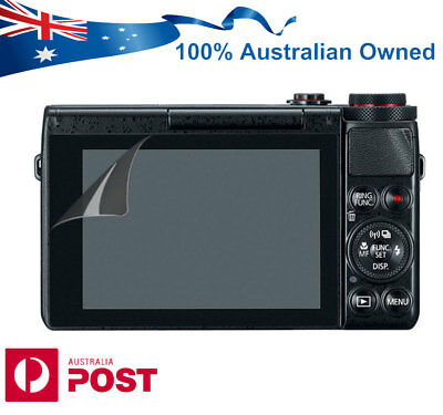 LCD Screen Protector Guard for Canon PowerShot G7X G7X Mark II MK 2 Camera AUS