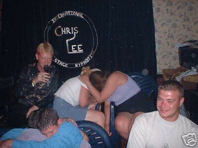 CHRIS LEE THE HYPNOSIS MESMERISER International Celebrity Comedy Stage Hypnotist