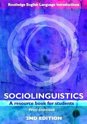 Sociolinguistics: A Resource Book for Students (Routledge English Language Intr.