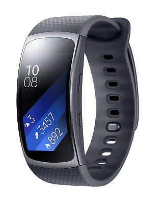 Samsung Gear Fit 2 Fitness Band In Black