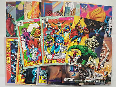 AVENGERS - VENDICATORI - set 20 trading cards