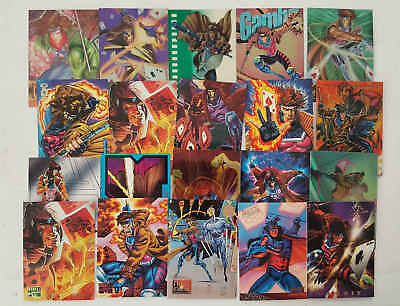 GAMBIT - (X-MEN) - 20 trading cards