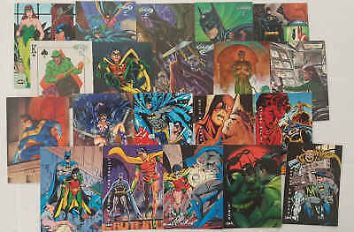 BATMAN - set 20 trading cards