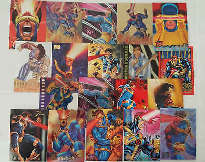 CICLOPE - (X-MEN) - 19 trading cards
