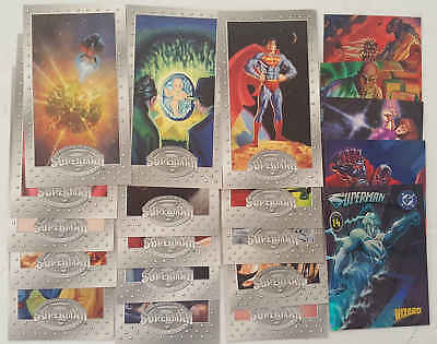 SUPERMAN - set 20 trading cards