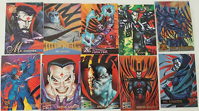 SINISTRO - (X-MEN) - 10 trading cards