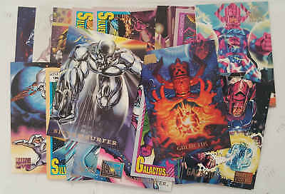 GALACTUS & SILVER SURFER - set 20 trading cards