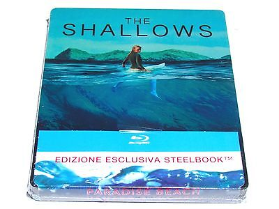 The Shallows Blu-Ray Steelbook Limited Edition Import Release Brand New