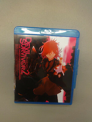 Devil Survivor 2: The Animation Complete Collection (Blu-ray Disc, 2015, 2-Disc)