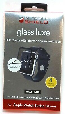 ZAGG - InvisibleShield Glass Screen Protector for Apple Watch 38mm
