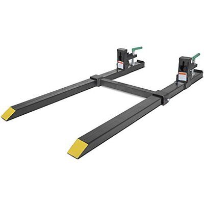 Titan Clamp on Pallet Forks Slide Over the Cutting Edge of Your Bucket 1500 lbs