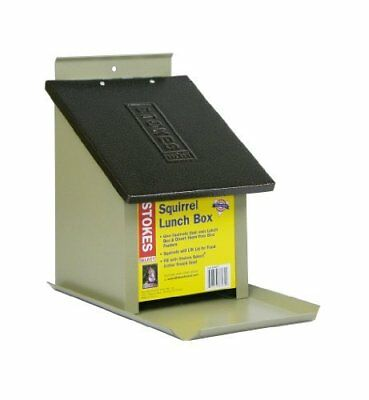 Stokes Select Lunch Box Squirrel Feeder - Great Distraction w/ Metal Roof Design