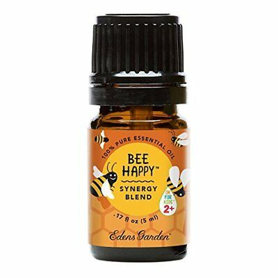 Affordable Bee Happy OK For Kids Synergy Blend Essential Oil 5ml by Edens Garden