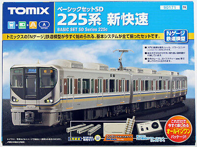 Tomix 90171 JR Series 225-0 Commter Train N Scale Starter Set (N scale)